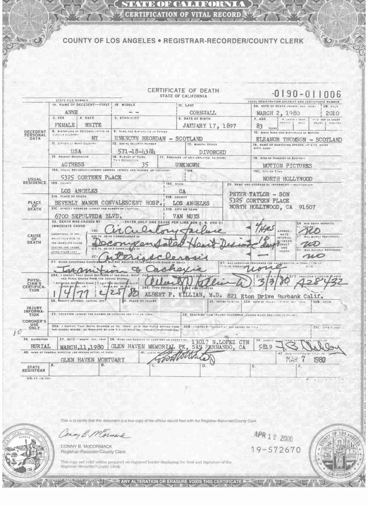 Michael charles sweet mike sanford 1950 2011 find people search training certificate yelopaper Images